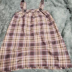 Plaid colored dress so wear it declare it